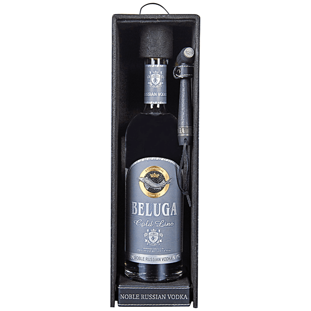 Beluga Gold Line Russian Vodka (750ml Bottle)
