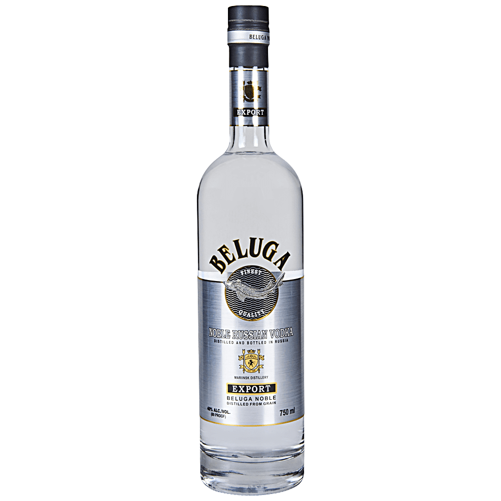 Beluga Noble Russian Vodka (750ml Bottle)