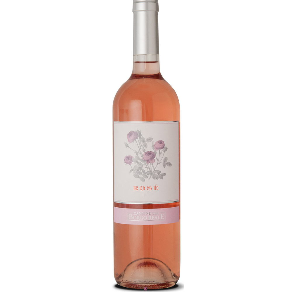 Borgo Reale Rose Kosher Wine (750ml Bottle)