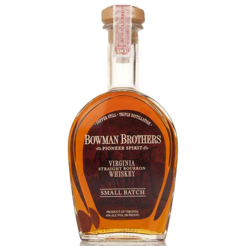 Bowman Brothers Straight Bourbon Whisky Small Batch (750ml Bottle)