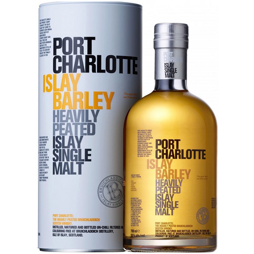 Bruichladdich Port Charlotte Scottish Barley Islay Single Malt (750ml bottle)