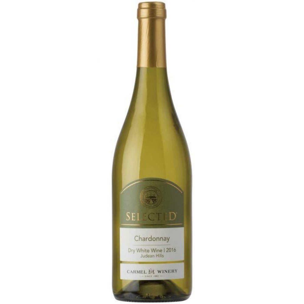 Carmel Selected Chardonnay 2017 Kosher White Wine - (750ml)