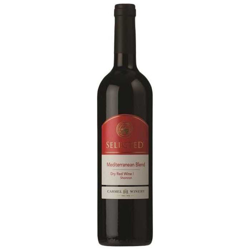 Carmel Selected Mediterranean Blend 2017 Kosher Red Wine - (750ml)