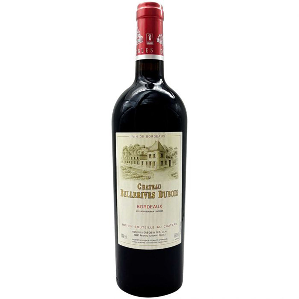 Chateau Bellerives Dubois Bordeaux 2016 Kosher Red Wine - (750ml)