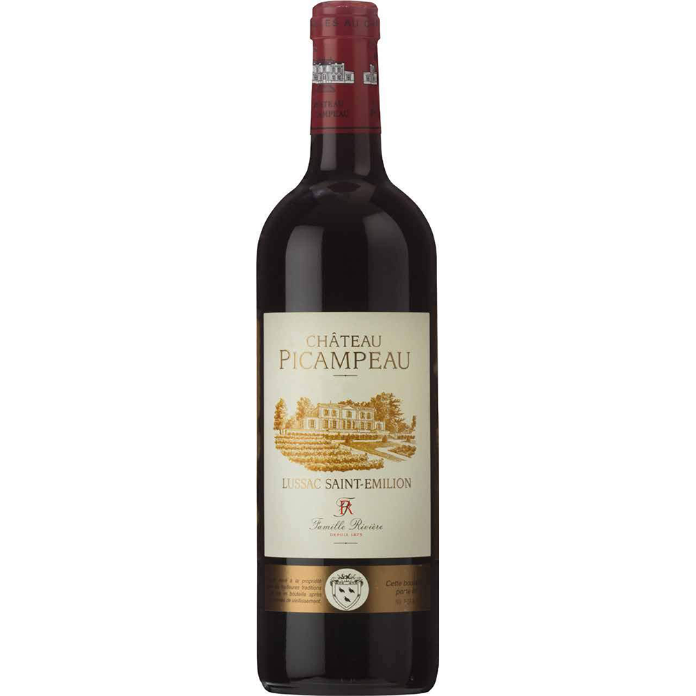 Chateau Picampeau 2014 Lussac Saint-Emilion (750ml) Kosher Wine