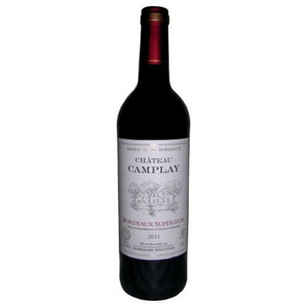 Chateau Camplay Bordeaux Superieur 2016 Kosher Red Wine - (750ml)