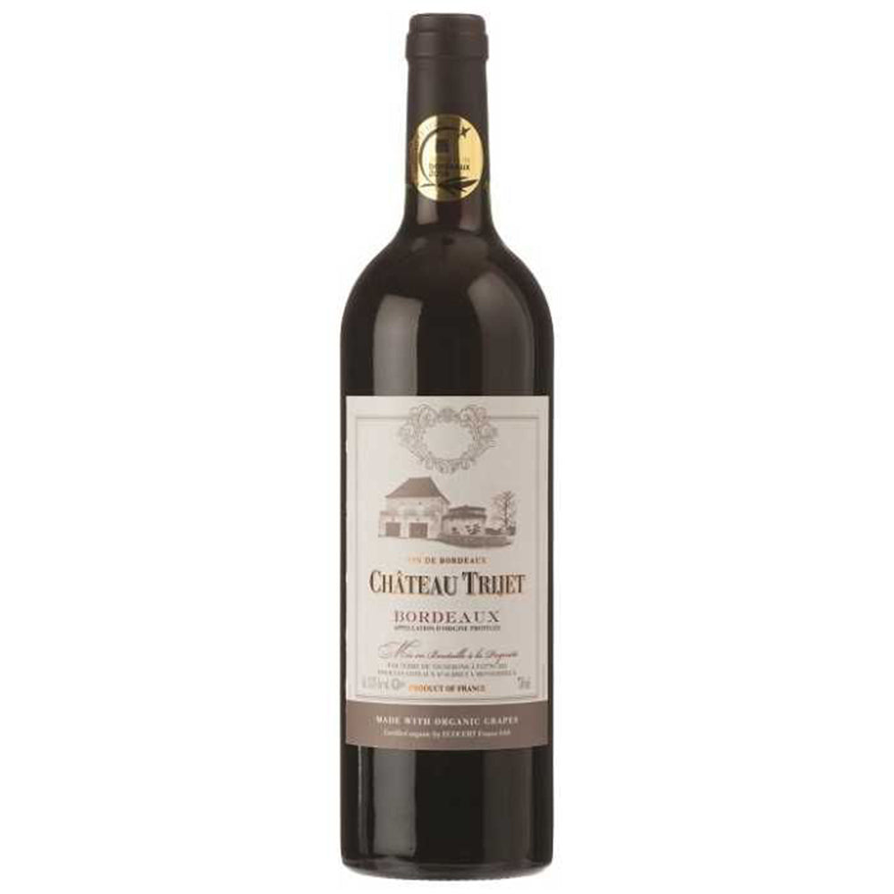 Chateau Trijet Bordeaux (Organic) 2017 Kosher Red Wine - (750ml)