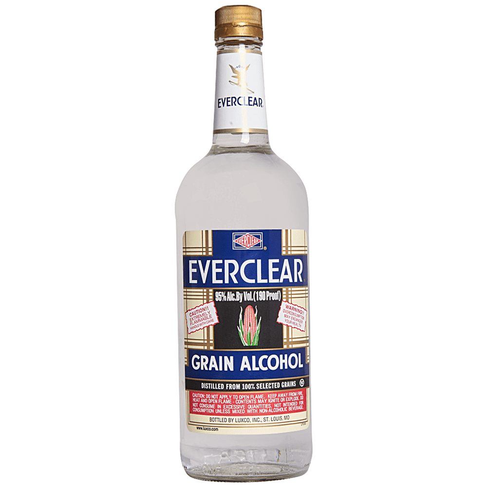 Everclear Grain Alcohol (1L)