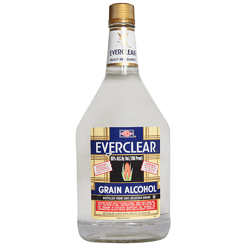 Everclear Grain Alcohol (1.75L)