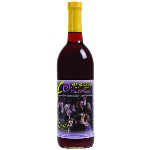 Farbrengen Light Red Concord Wine (750ml)