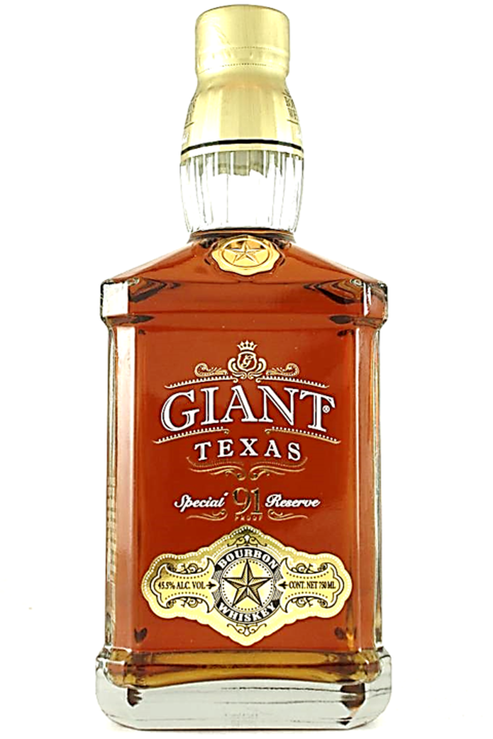 Giant Texas Special Reserve Bourbon Whisky (750ml Bottle)