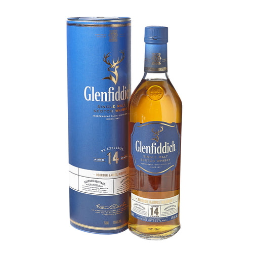 Glenfiddich Single Malt Scotch Whisky 14 Year (750ml)