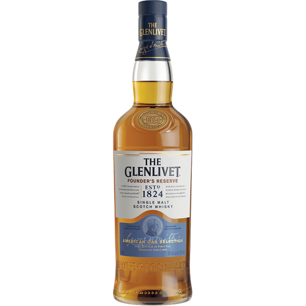 Glenlivet Founders Reserve Single Malt Scotch Whisky (1.75L)
