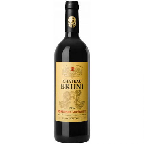 Chateau Bruni Grand Vin de Bordeaux 2016 Kosher Red Wine - (750ml)