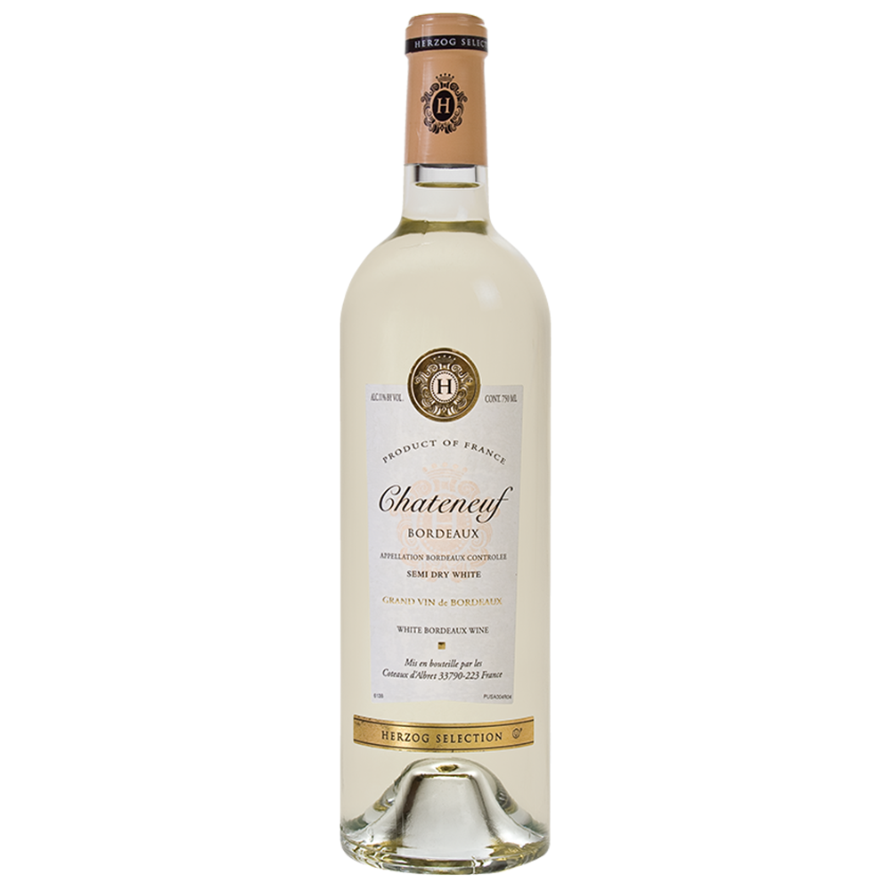 Herzog Selection Chateneuf Semi Sweet White Bordeaux (750ml)