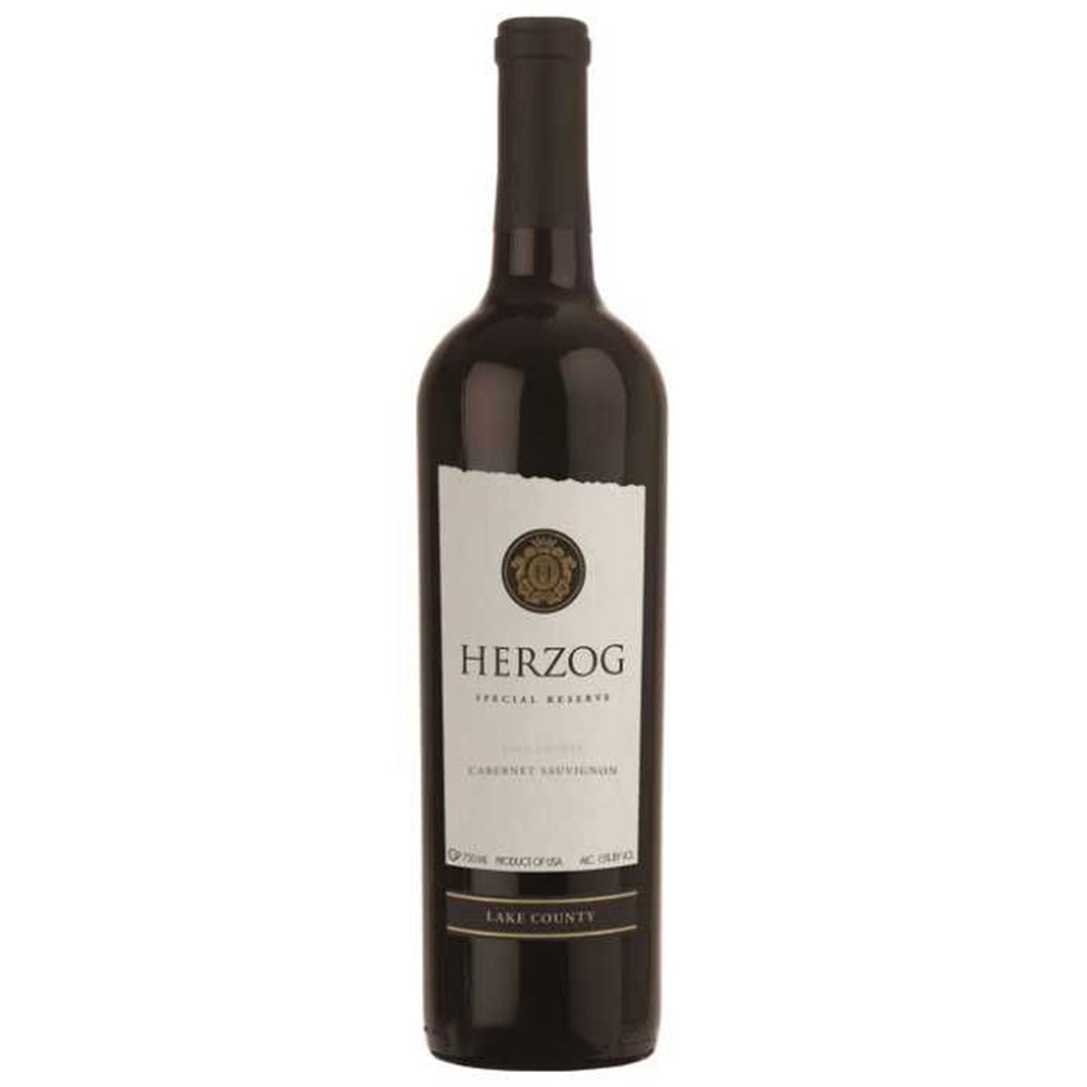 Herzog Special Reserve Lake County Cabernet Sauvignon 2014 Kosher Red Wine - (750ml)