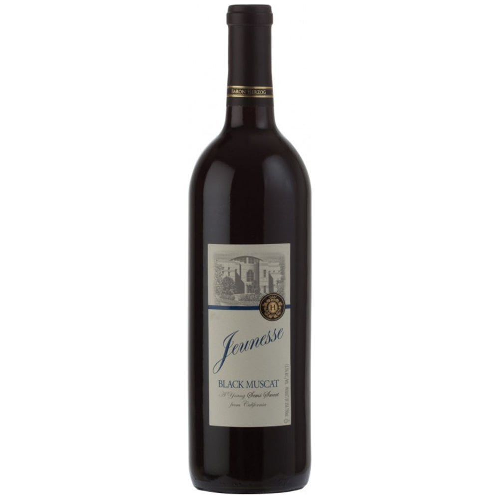 Baron Herzog Jeunesse Black Muscat Kosher Semi-Sweet Wine - (750ml)