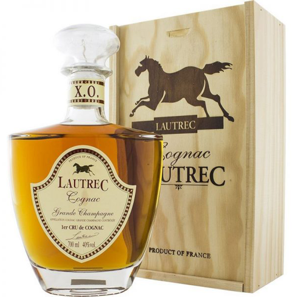 Lautrec Cognac X.O.  - (700ml Bottle)