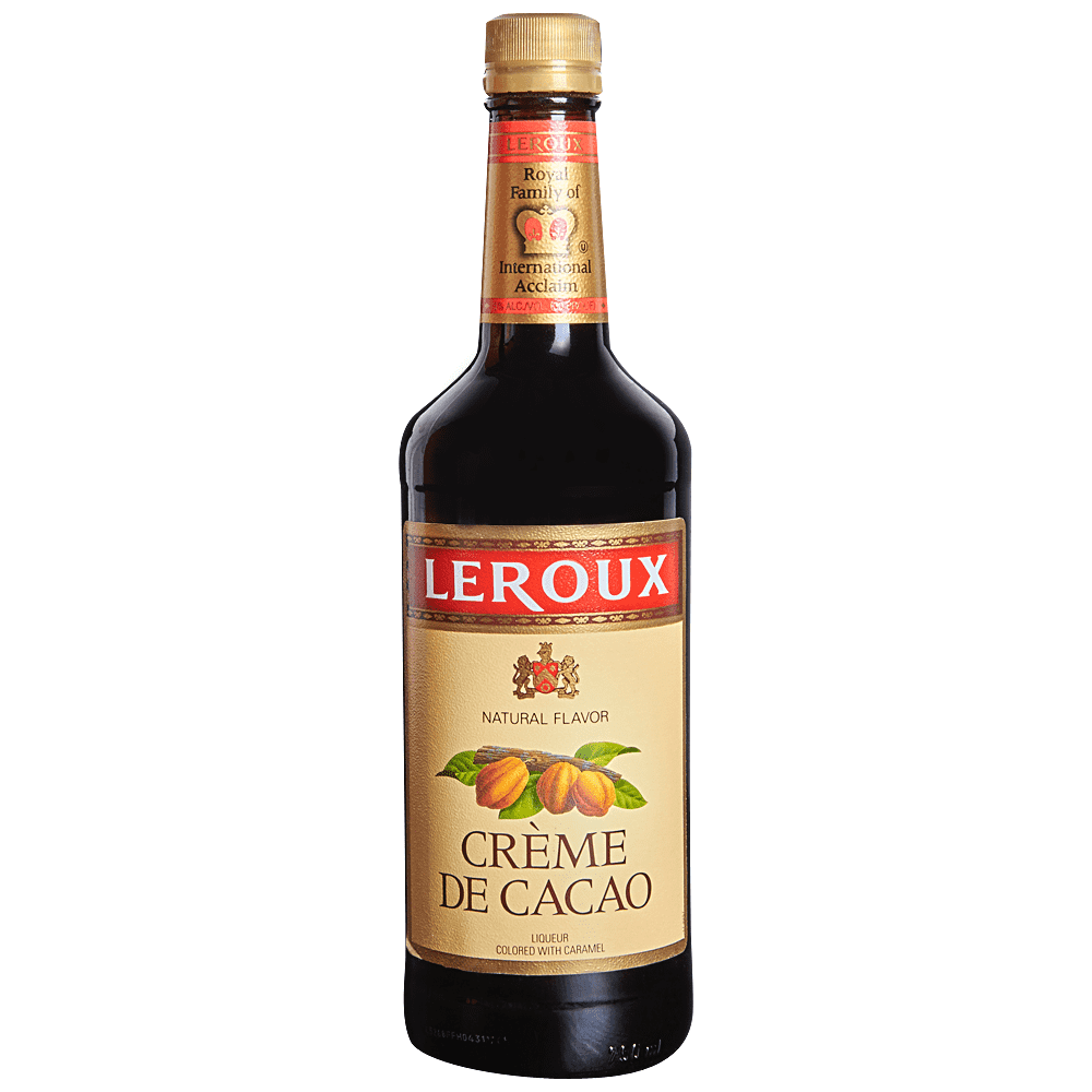 Leroux Creme De Cacao Liqueur - (750ml Bottle)