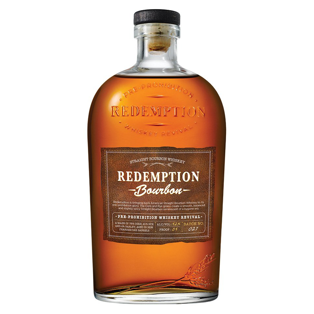 Redemption Bourbon Whiskey 750ml Bottle