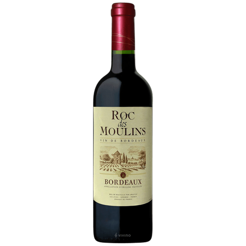 Roc des Moulin Bordeaux 2014 Kosher Red Wine - (750ml)