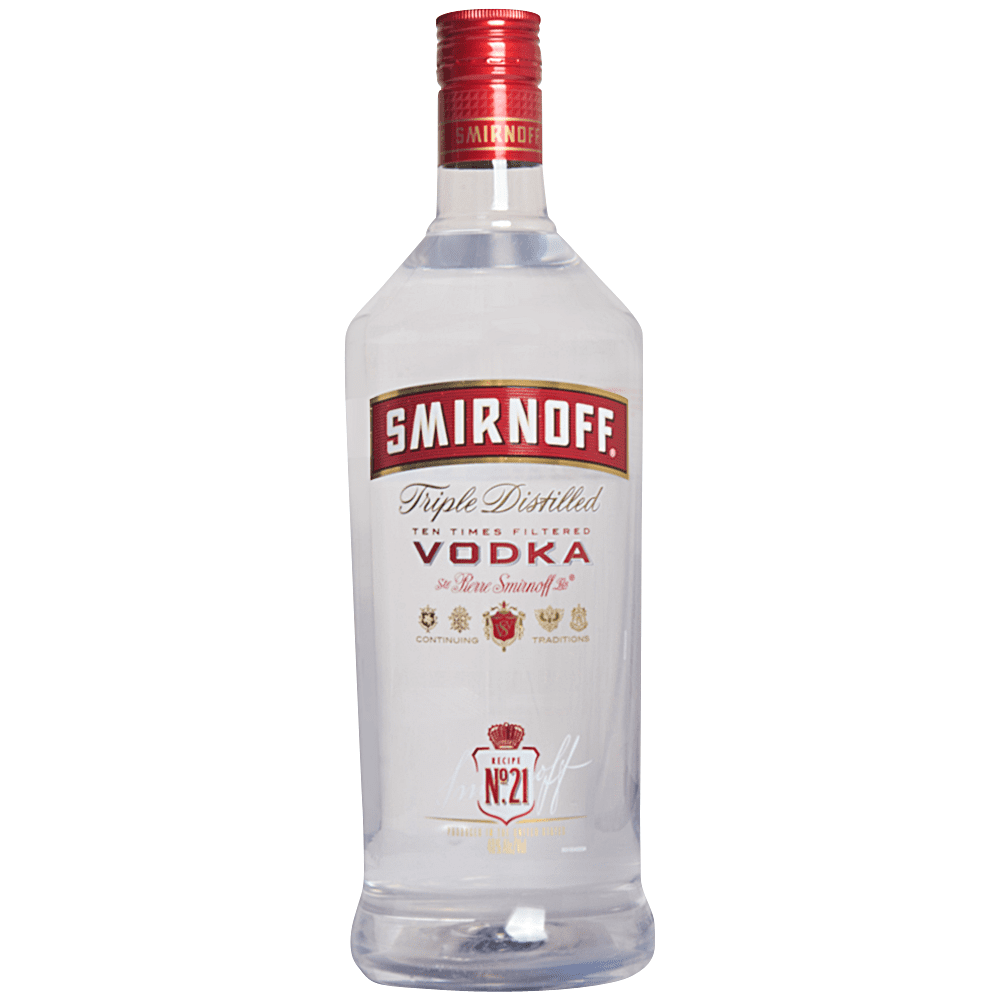 Smirnoff Vodka No 21 Plastic (1.75L)