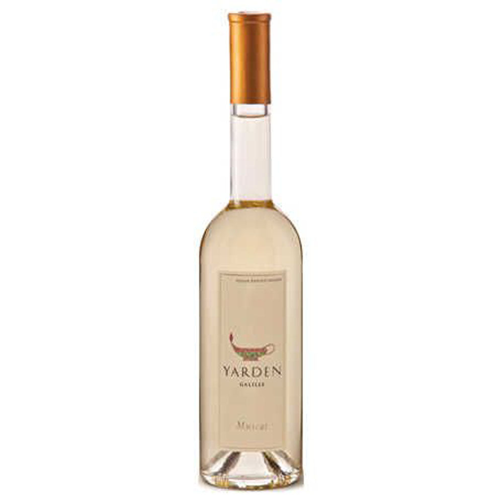 Yarden Golan Heights Muscat 2014 Kosher White Wine - (500ml)
