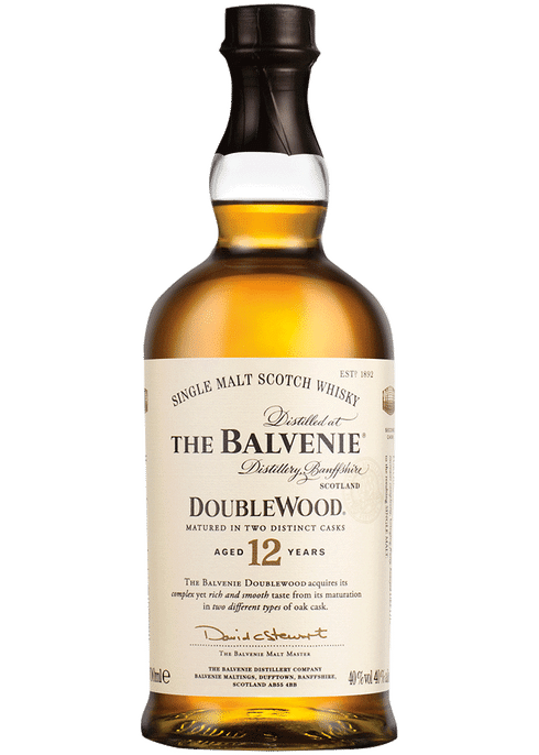 The Balvenie Single Malt Scotch Whisky 12 Years (750ml)