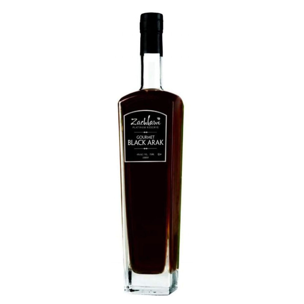 Zachlawi Gourmet Black Arak - (750ml Bottle)