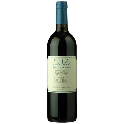 La Vie Rouge Du Castel 2017 Kosher Red Wine - (750ml)