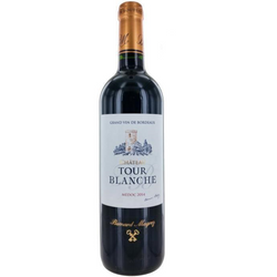Bernard Magrez Chateau Tour Blanche Medoc 2015 (750ml) Kosher Wine