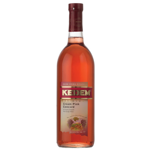 Kedem Cream Pink Concord Wine - (1.5L Bottle)