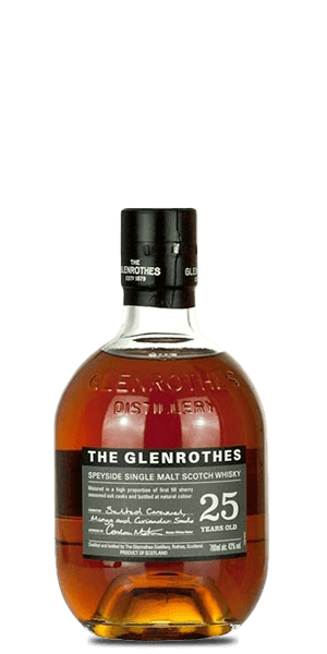The Glenrothes Speyside Single Malt Scotch Whiskey 25 Year (750ml)