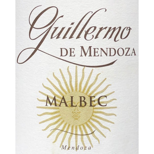 Guillermo de Mendoza Malbec 2018 Kosher Red Wine - (750ml)