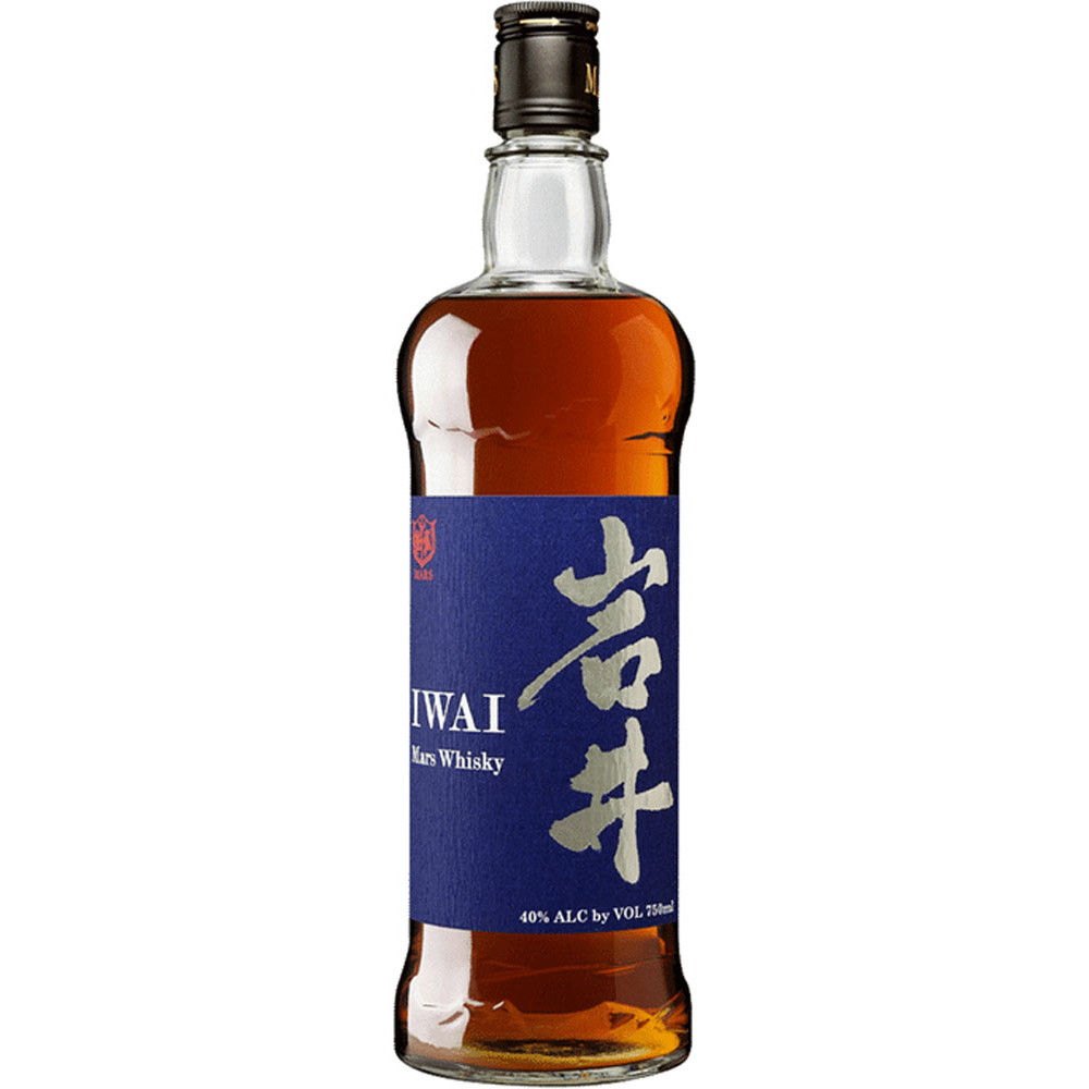 Iwai Mars Japanese Whisky (750ml Bottle.)