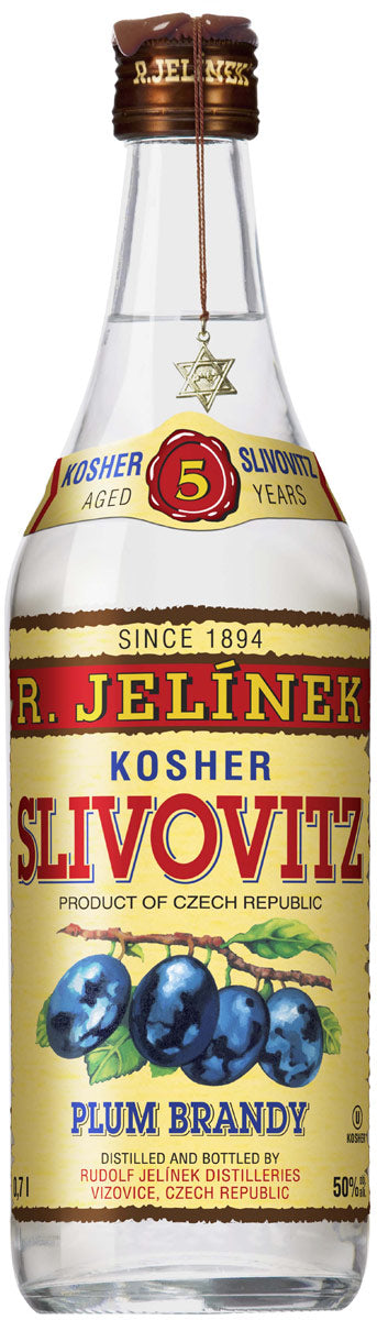 R. Jelinek Slivovitz Plum Brandy 5 years old - (750ml Bottle)