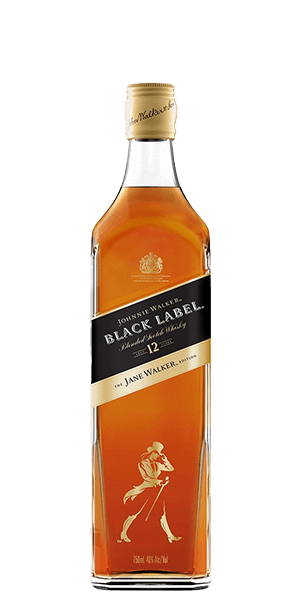 Johnnie Walker Black Label Blended Scotch Whiskey 12 Year The Jane Walker Edition (750ml)