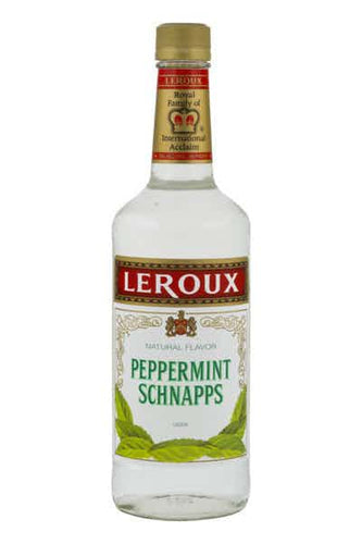 Leroux Peppermint Schnapps Liqueur - (1L Bottle)