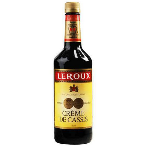 Leroux Creme De Cassis Liqueur - (750ml Bottle)