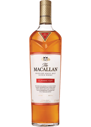 Macallan Highland Single Malt Scotch Whiskey - Classic Cut (750ml)