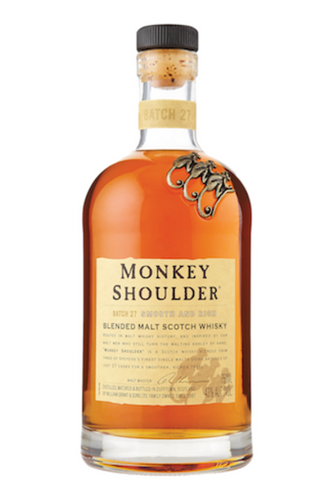 Monkey Shoulder Blended Malt Scotch Whiskey (750ml)