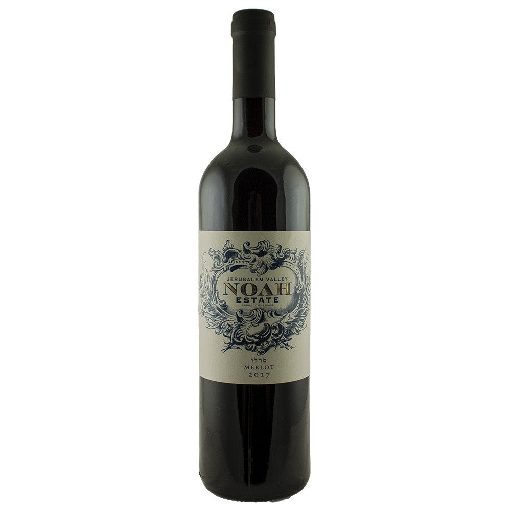 Noah Estate Merlot 2017 Kosher Red Wine - (750ml)