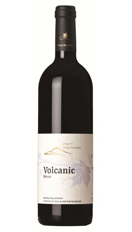 Odem Mountain Volcanic Shiraz 2011 Kosher Red Wine - (750ml)