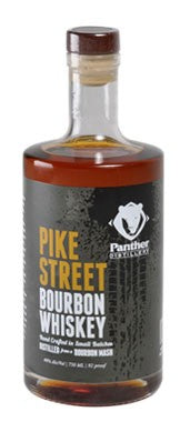 Panther Distillery Pike Street Bourbon Whisky (750ml)
