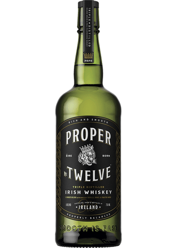 Proper Twelve Irish Whisky (750ml Bottle)