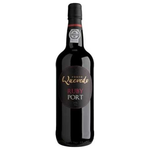 Quevedo Ruby Port Kosher Red Wine - (750ml)
