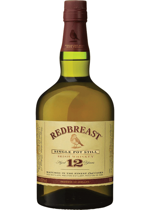 Redbreast Single Pot Still Irish Whiskey 12 Year (750ml)