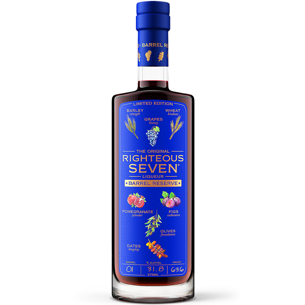 Righteous Seven® Barrel Reserve Liqueur - (375ml)