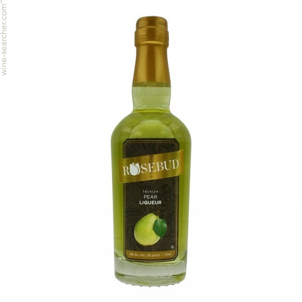 Rosebud Pear Liqueur - (375ml Bottle)