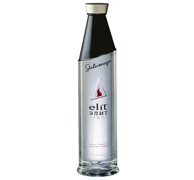 Stolichnaya Elit Ultra Luxury Vodka 1.75L
